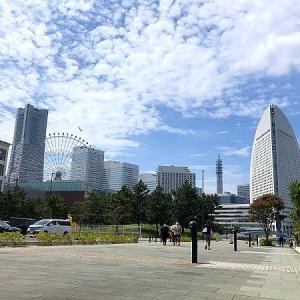横浜ハンマーヘッドでリゾート気分!