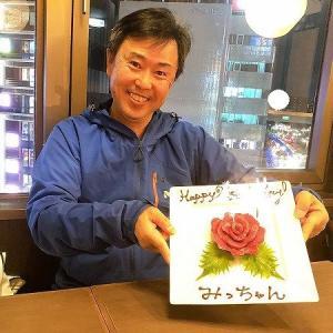 「ハッピー 馬ースデープレート馬肉ケーキ」で祝おう!馬刺屋マサシ浅草店