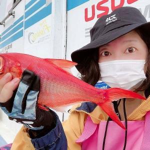 伊三郎丸にてLTライト深海釣り!