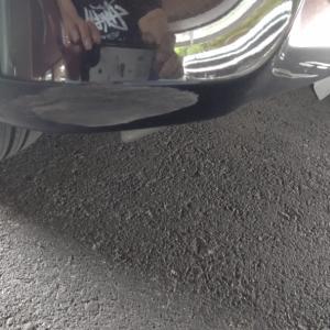 師匠と私、車をぶつける 他