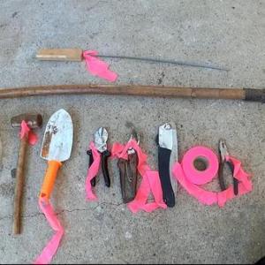 くくり罠の道具