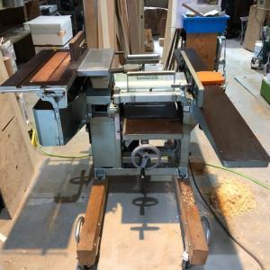 ◯万能木工機送りローラー交換◯