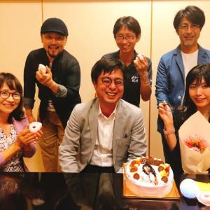ForbesJAPAN藤吉さんを囲む会(誕生日お祝いしていただきました)
