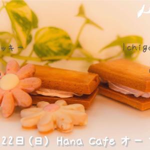 Hana cafe オープン。Hana道場5周年を記念してオリジナルケーキ販売します。