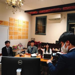 福井県庁の方々と一緒に企業立地誘致オンラインセミナー実施。Hana道場から配信!