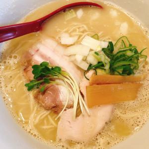 鶏の旨味が凝縮された「鶏白湯」絶品でした。鯖江のラーメン屋さん「中華そばRyo」
