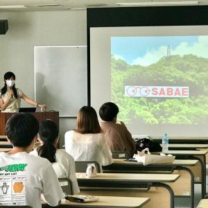 地域創生学という授業で大学生にお話ししてきました。