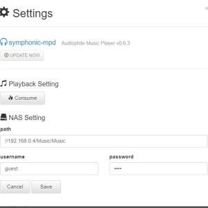 SymphonicMPD  v0.6.3が配信される