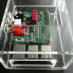 RaspberryPi3 + INNO DAC ケースの製作