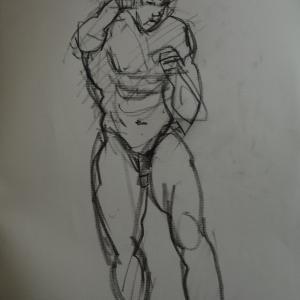 メイルヌードです。格闘技のモデルらしいが