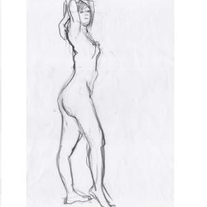 クロッキーモデル、美術モデル募集中