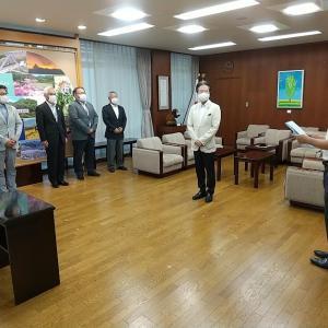 鯖江市監査委員の辞令交付を受けました