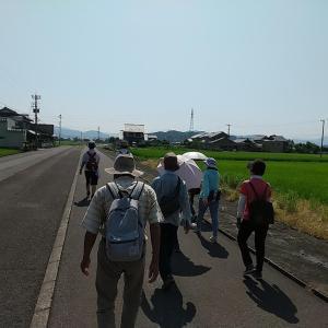 大人の遠足にて「旧鯖浦線」の線路跡・駅舎跡などをたどりました!
