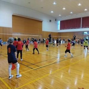鯖江市シルバーソフトバレーボール連盟・令和3年度リーグ戦が始まりました!