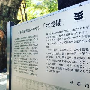 京都南禅寺の「水路閣」 一番楽しみでした~。