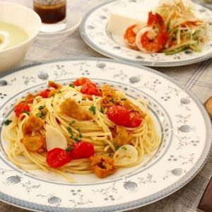 ほやとトマトの簡単パスタ(レシピ)