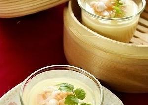 優しい味わい~中華風冷製たまご豆腐(レシピ)