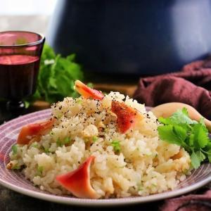 洋風ほっき飯 (レシピ)