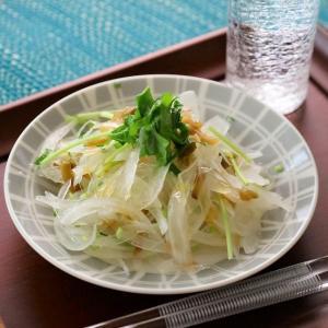 玉ねぎと搾菜の香りサラダ (レシピ)