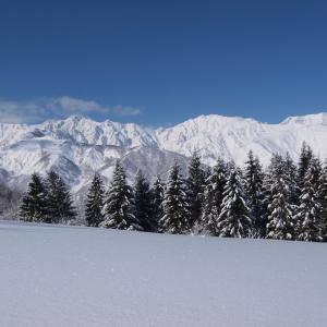 休廃業スキー場探検 白馬みねかたスキー場 クロスカントリーコース