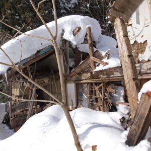 廃墟バックカントリー 大町の廃村「大倉」を目指す