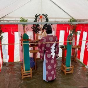 1/24【鯖江市舟津の地鎮祭です。】