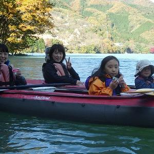 令和元年11月17日草木湖カヌーツアー!