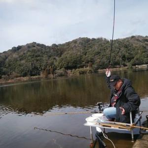 『2020ハタキ祭り』山口県 小野湖 episode1 3月1日 へら鮒釣り