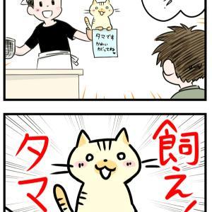 【猫系四コマ】「替え玉」【ゆるいやつ】