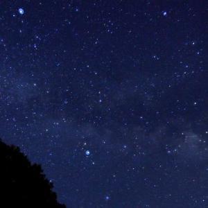 天の川な夜。