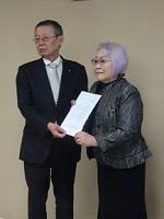 「非核平和都市宣言」採択を!仙台市に要請行動