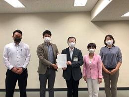 仙台市・宮城県に女川原発再稼働に反対し非核平和行政の推進を求める要請書
