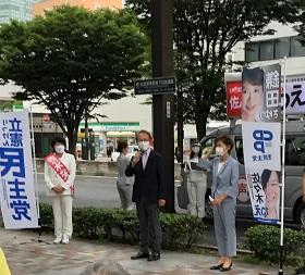 佐々木なつえさん、県議補選、宮城野選挙区当選!