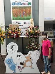 仙台文学館に「連載35周年記念 ぼのぼのたちの杜」を観に行ったの巻