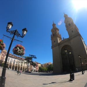 カミノサンティアゴを少し歩いてみる(スペイン、ログローニョ、観光)