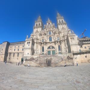 カミノデサンティアゴ、巡礼路の目的地!(スペイン、サンティアゴデコンポステーラ、観光)