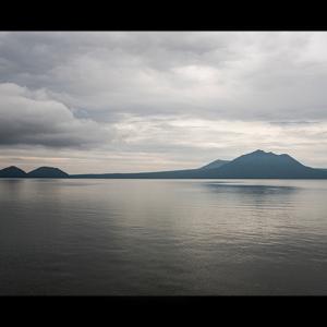 神秘の湖、支笏湖