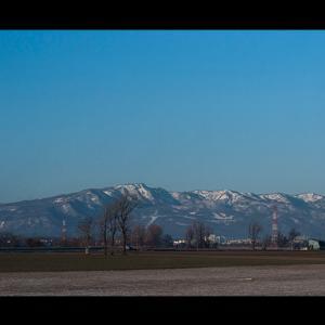 生振から見た手稲山