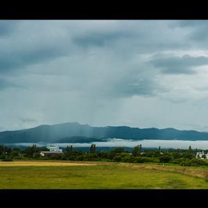 手稲山から雲、湧き上がる