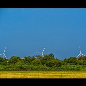 美しき風力発電