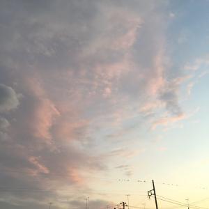 ハッピーアワーの夕暮色