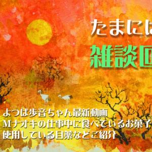 歩音ちゃんの新動画や仕事中のお菓子をご紹介(雑談回) 2020.04.22