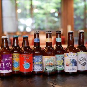 ロビーの長野県の地ビールの仲間が増えました