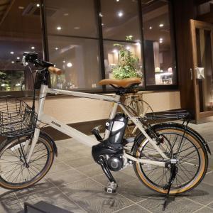 電動自転車貸し出しはじめました
