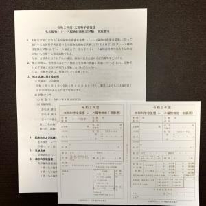 【レース編物検定】令和2年度の試験実施日は9月20日です。