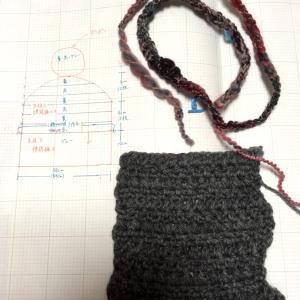 ポンポン帽子を編もう!①編み始め。