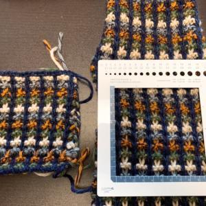 【棒針編み講師科】ゲージが変わった、という衝撃。