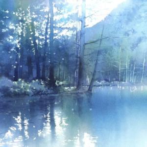 一枚の繪 2.3月号 水彩画 春崎幹太