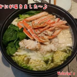北海道直送かにで超美味しいカニ鍋~!(^^)!