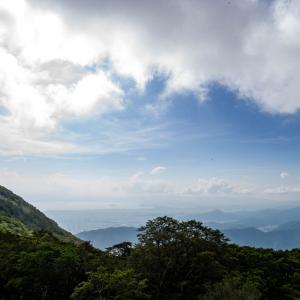 伊吹山から西の景色を